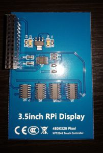 3 5″ TFT Touchscreen for Raspberry Pi – Electronic Projects and
